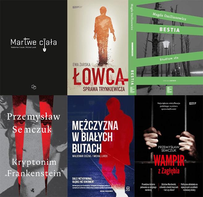 Książki o seryjnych mordercach z Polski