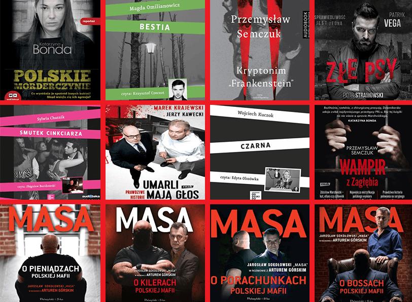 Kryminalne audiobooki