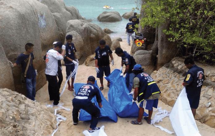 Zbrodnia w Koh Tao Tajlandia