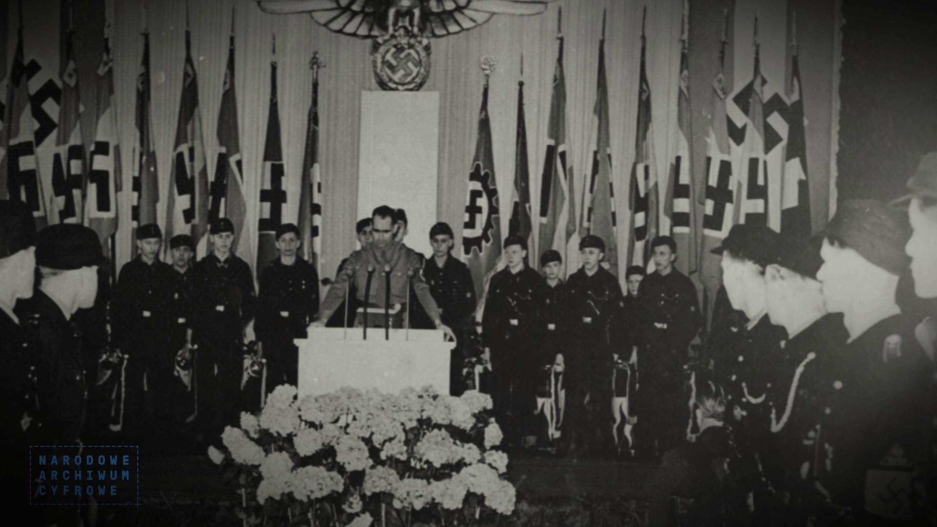 Rudolf Hess kult zbrodnia na Narożniku