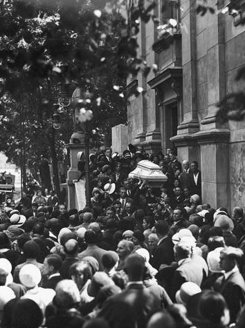 Korczyńska pogrzeb