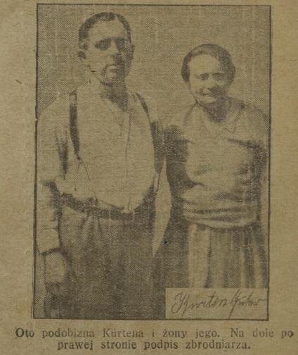 Kurten z żoną