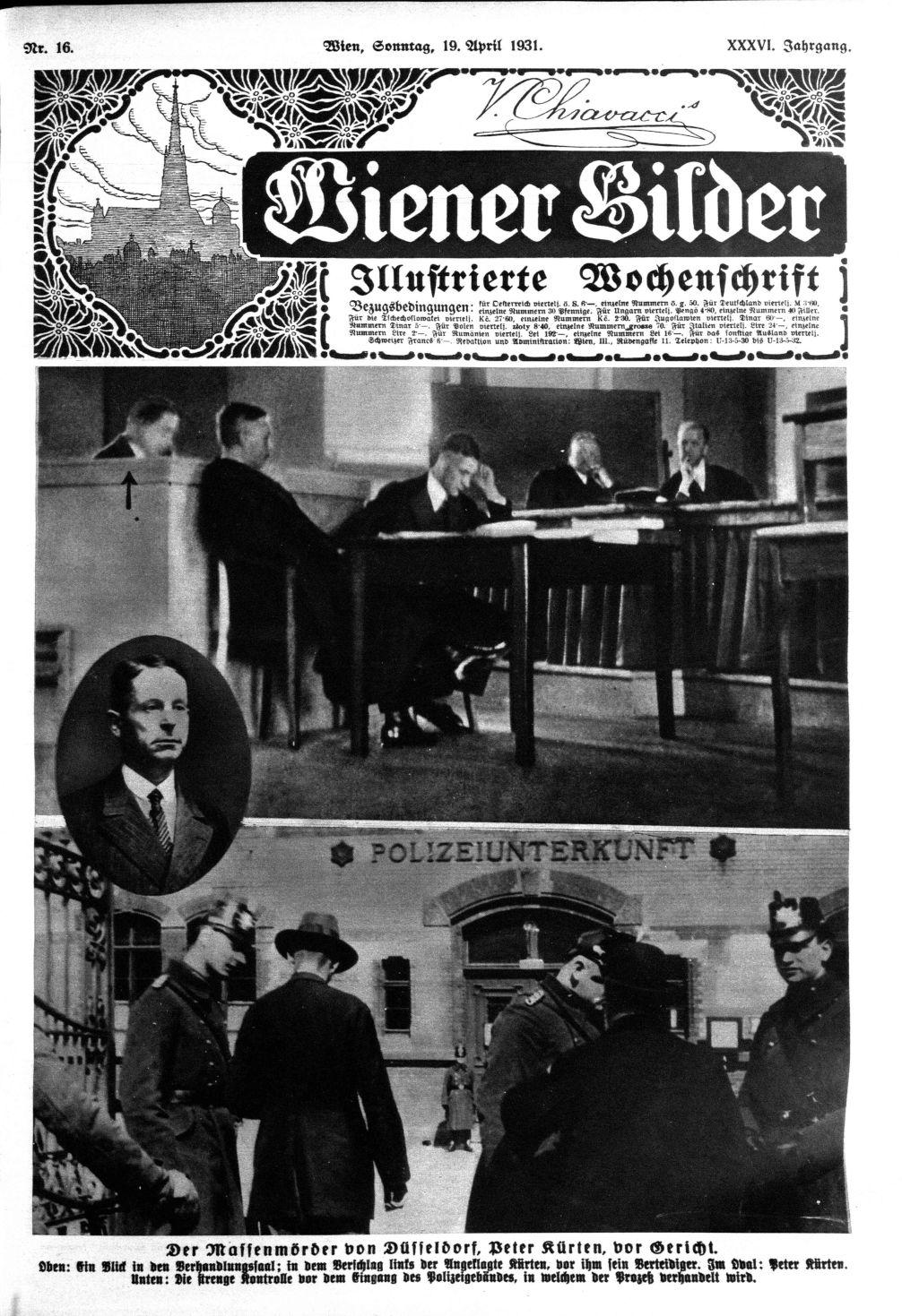 Wienner Bilder, 19 kwietnia 1931
