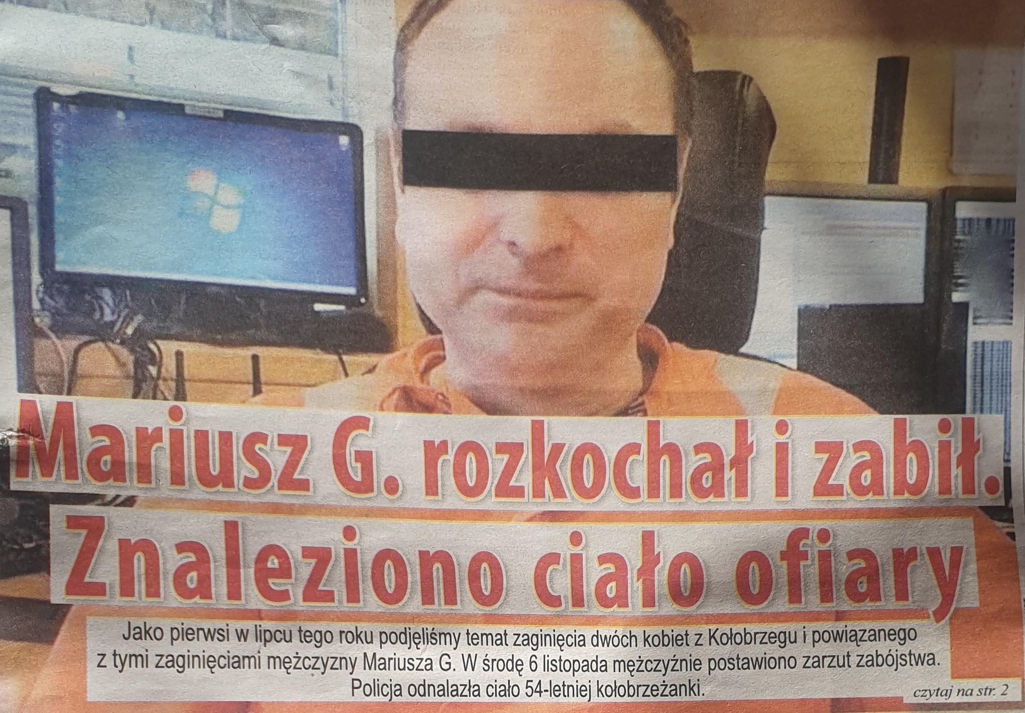 Mariusz G. Gazeta Kołobrzeg